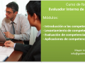 Formación de evaluador interno de competencias