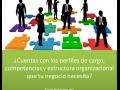 PERFILES, COMPETENCIAS Y ESTRTUCTURA